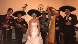 Mariachi suizo en una boda