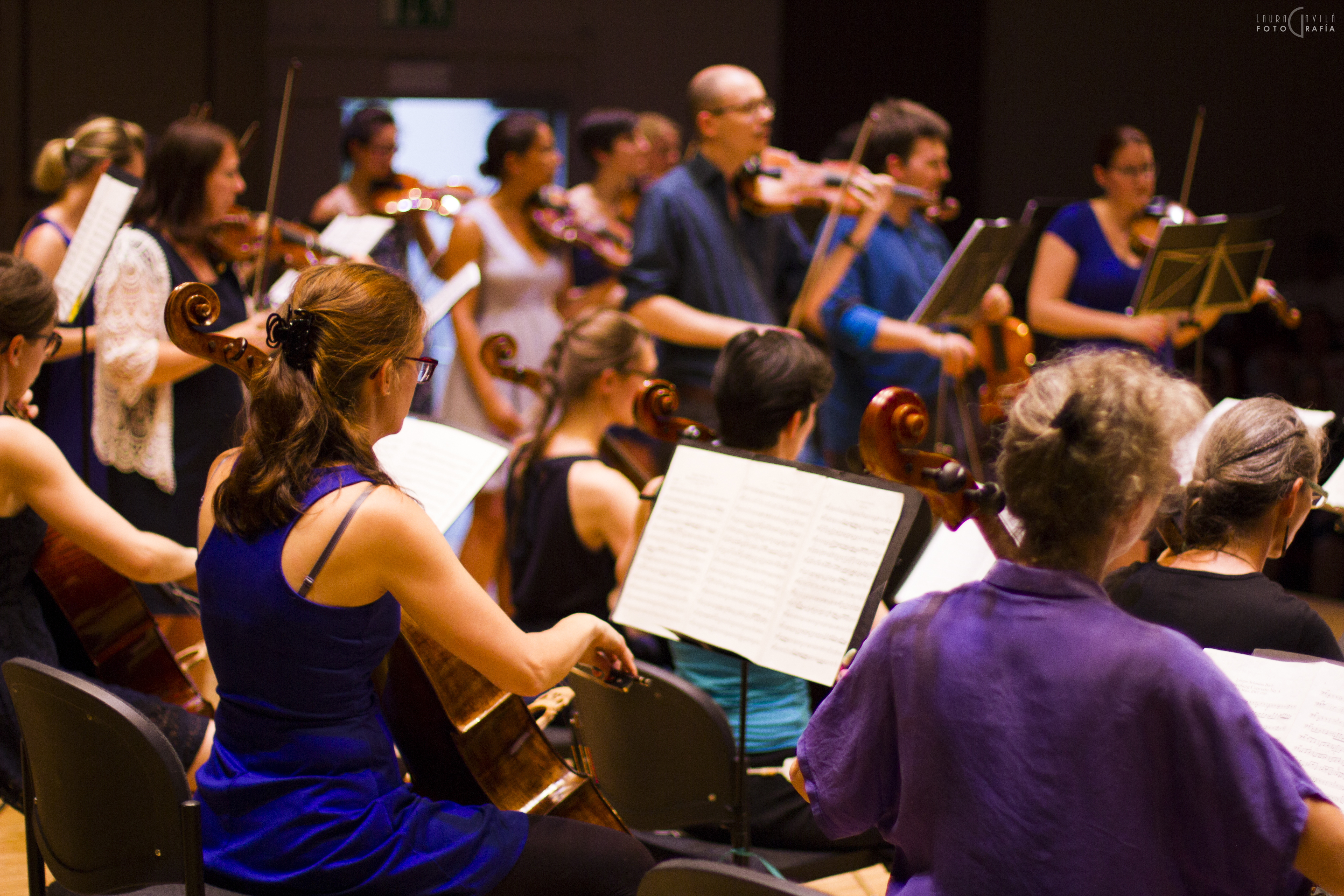 Orchestre Amati  salle Paderewski