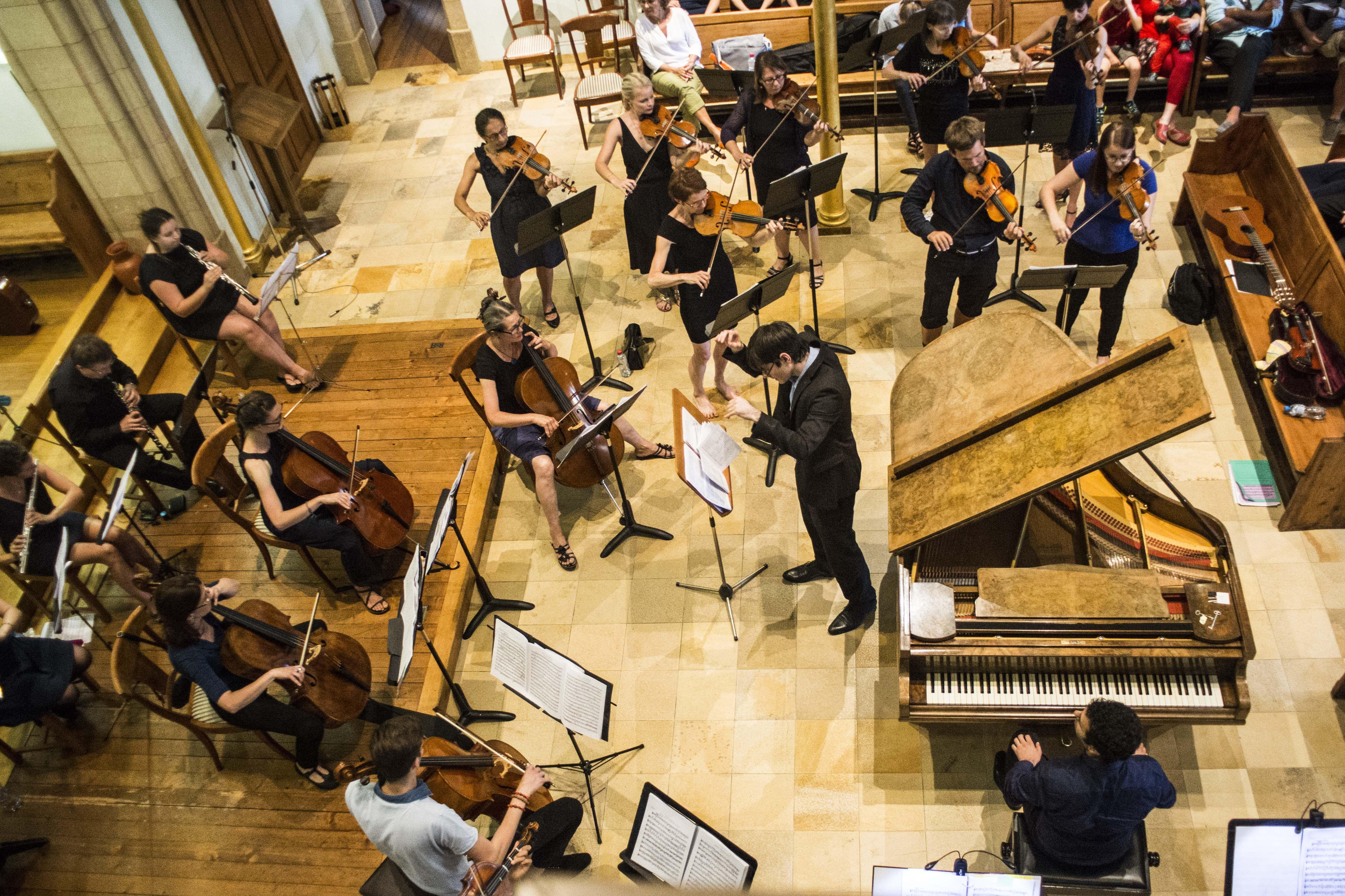 Orchestre Amati concerto de Beethove