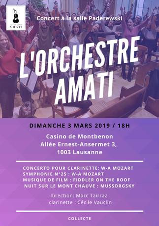 concert amati 3 mars 2019