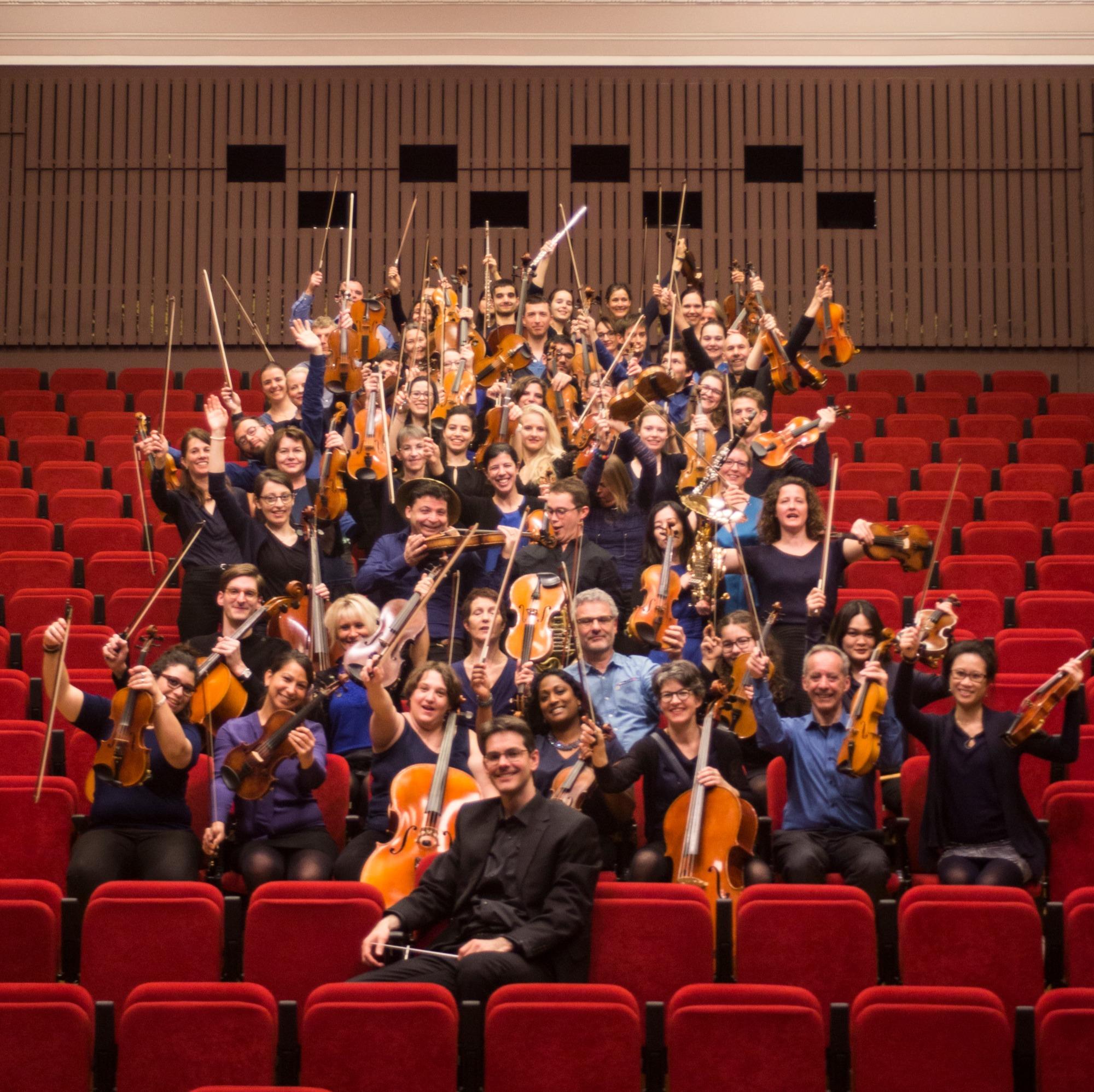orchestre Amati au complet