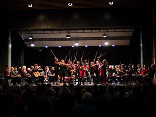 Concert avec l'orchestre Amati près de Lausanne