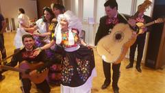 Mariachi Suizo en una fiesta à Lausana