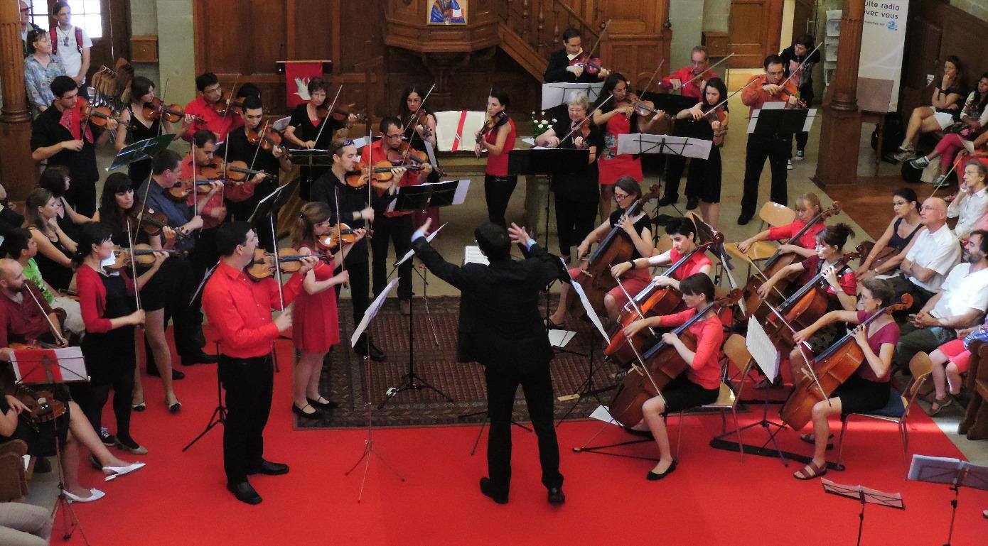 Orchestre Amati fête de la musique