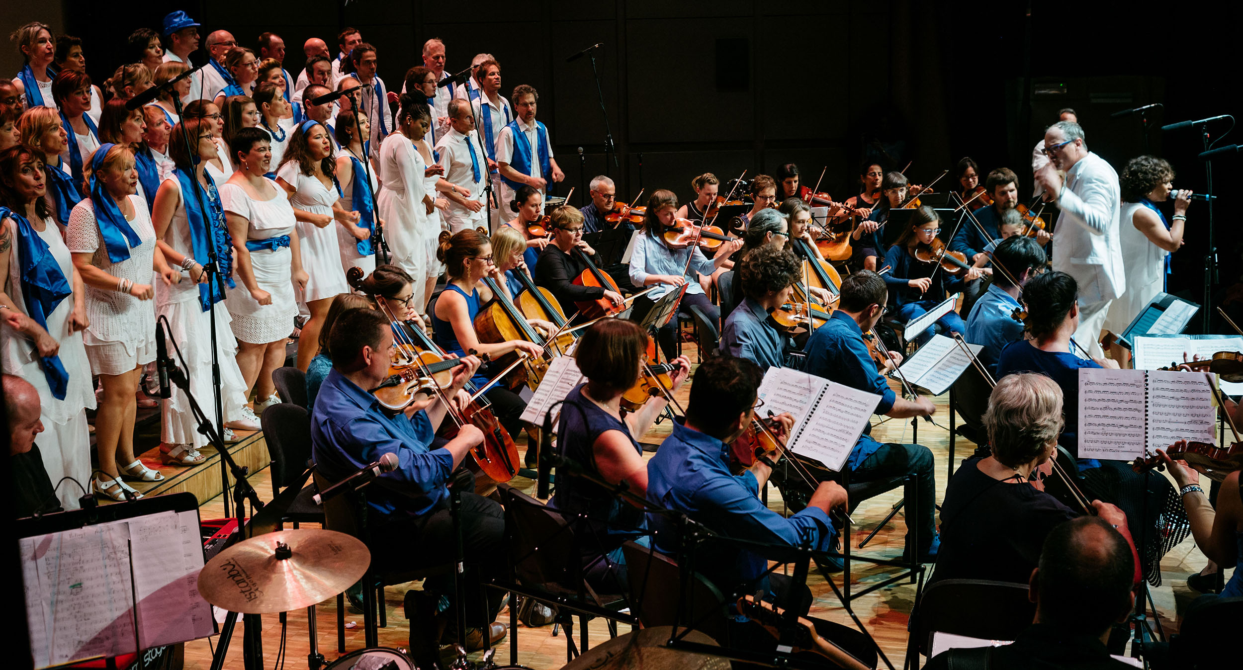 L'orchestre Amati et Madrijazz