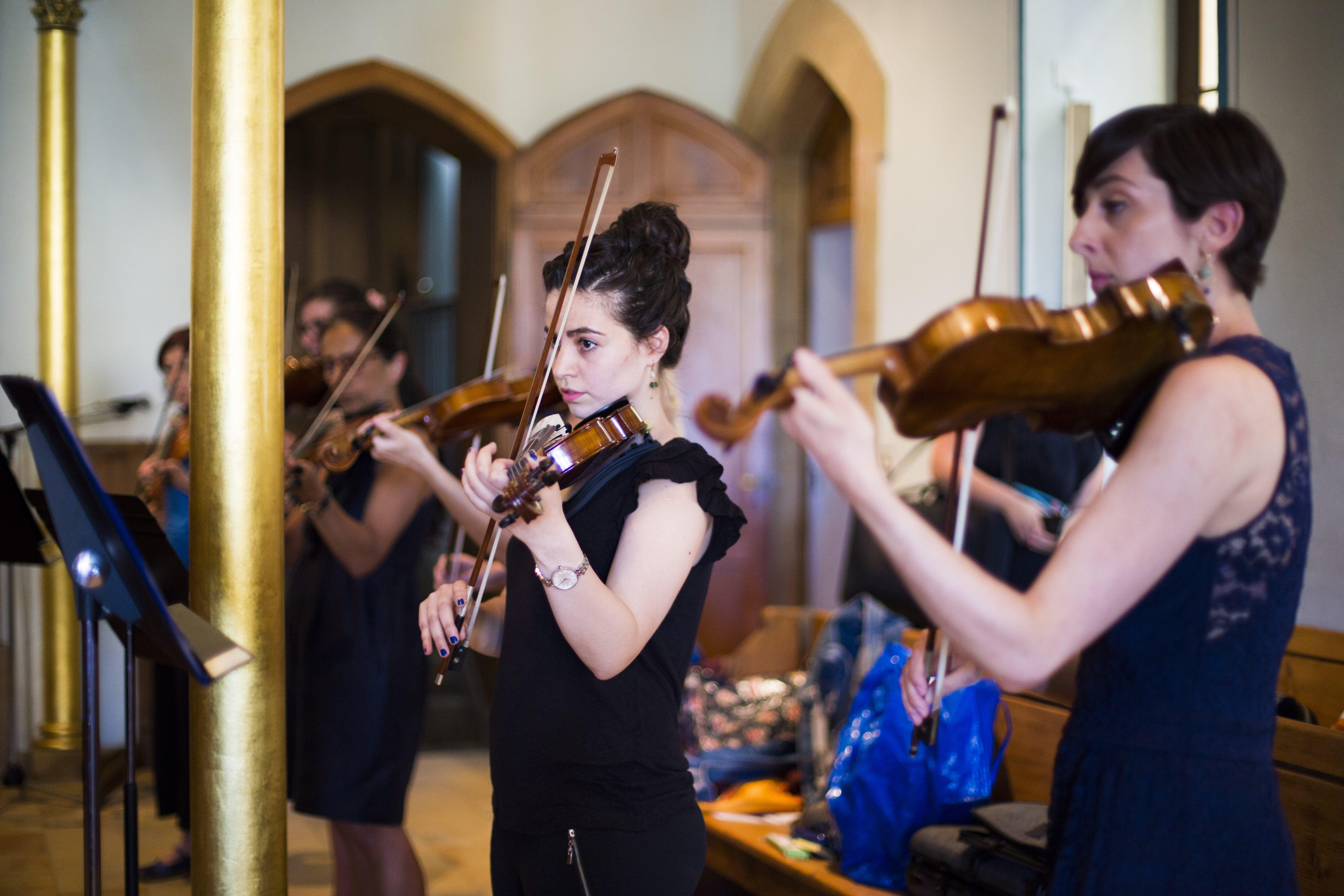 Orchestre Amati avec ses musiciens
