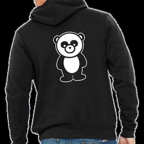 Panda Only Zip Hoodie