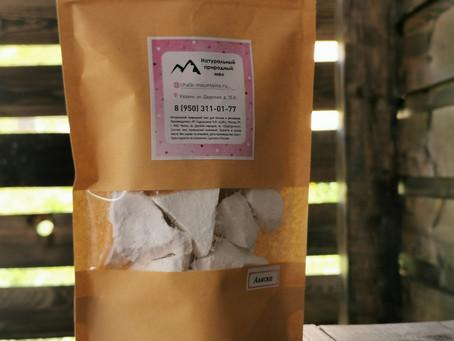 Натуральная упаковка натуральному мелу
