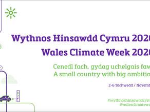 Wythnos Hinsawdd Cymru