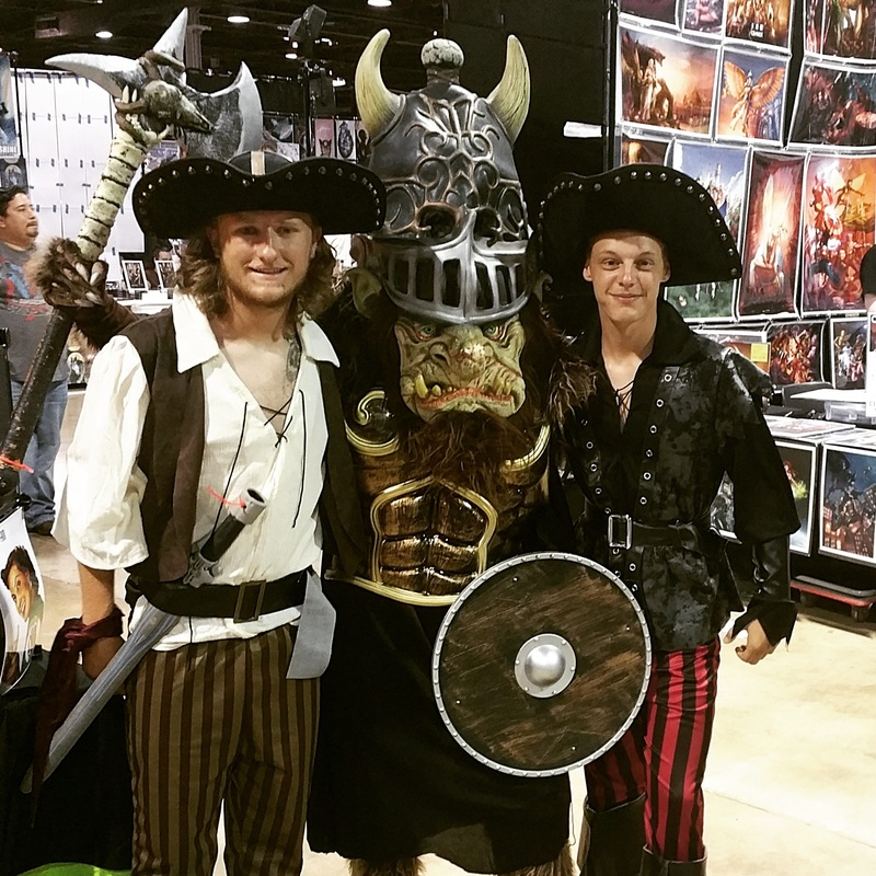 pirates and legend