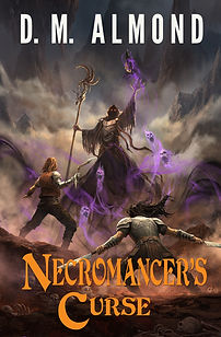 D. M. Almond new fantasy book Necromancer's Curse