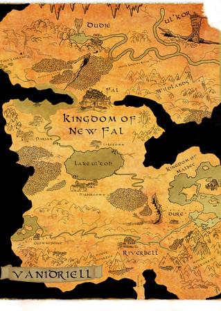 Map of Vanidriell