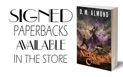 D. M. Almond Amazon Bestseller fantasy series