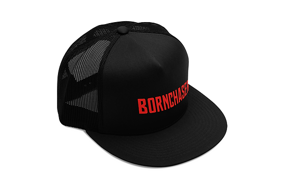 Bornchaser Trucker Hat - Red