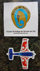 French Air Force Aerobatic Team Magnet Sticker Air Force