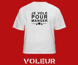 JE VOLE POUR MANGER