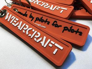 Porte-clés plastique pvc