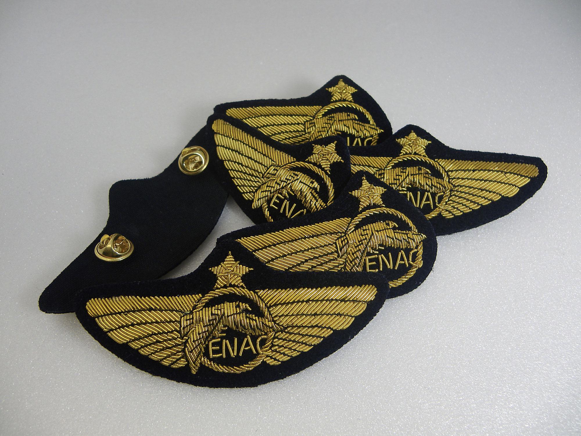 Aile de poitrine ENAC tissus