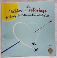Air Force Aerobatic Patrol coloring book