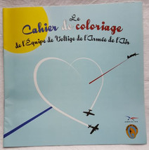 Cahier de coloriage Patrouille de Voltige Armée de l'Air