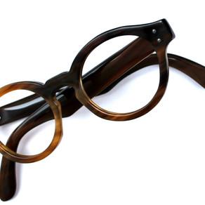 Lunettes de lunette en corne de buffle