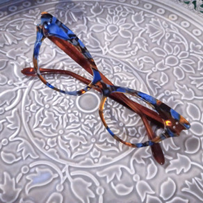 Lunettes sur mesure papillons / Cateyes bespoke eyewear