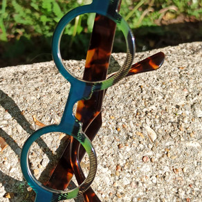 Lunettes sur mesure multicolores / multicolor bespoke eyewear