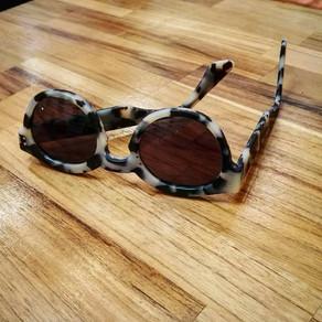 lunettes sur mesure de couleur écaille grise (tokyo)