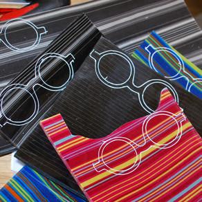 Lunettes rondes multicolores