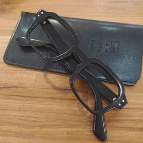 lunettes sur mesure en corne de buffle
