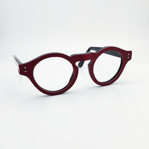 michèle B. Acetate-cuir  / pièce unique