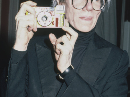 Lunettes comme Andy Warhol