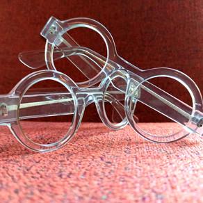 Lunettes sur mesure transparentes / transparent bespoke eyewear