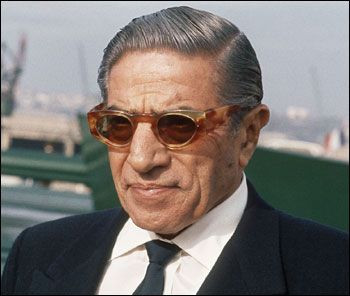 Lunettes comme Aristote Onassis