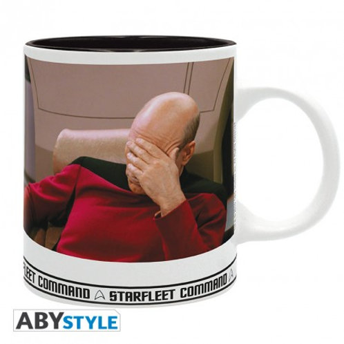 Star Trek Mug Facepalm