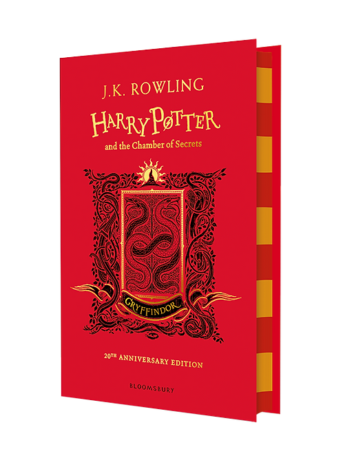 Harry Potter and the Chamber of Secrets - Gryffindor Edition Hardback