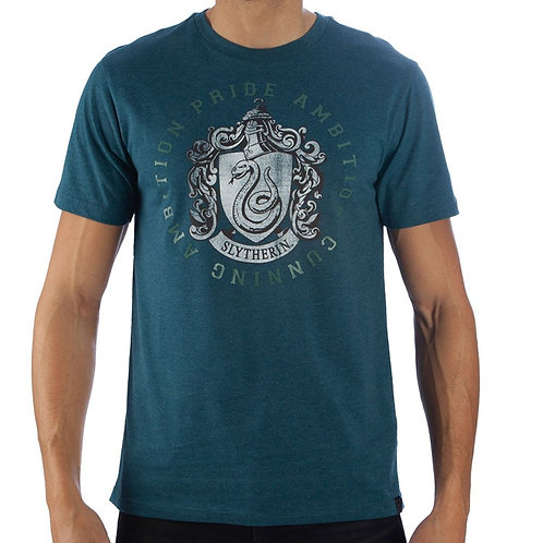 Harry Potter Slytherin House Crest Unisex Tshirt