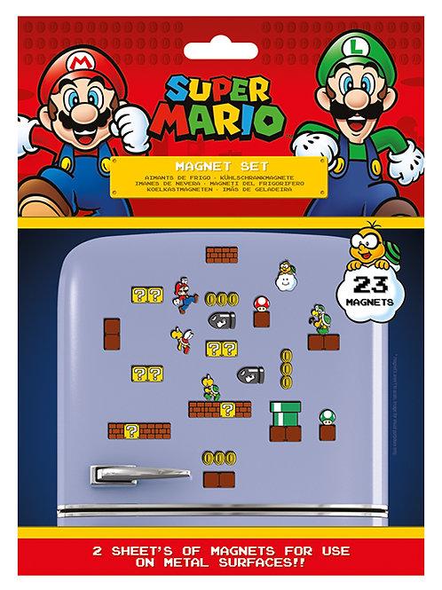Super Mario (Mushroom Kingdom) Magnet Set
