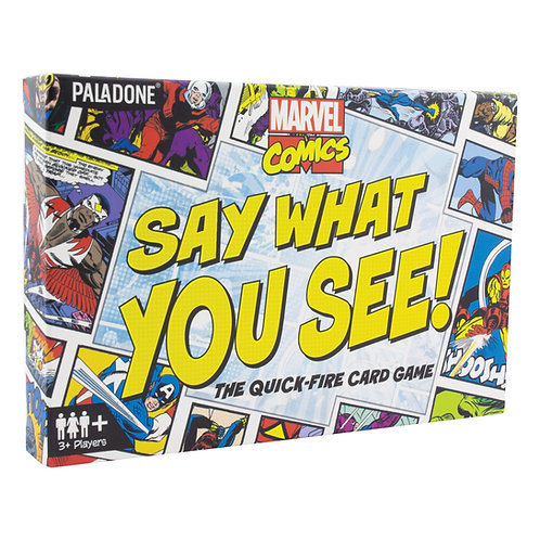 Marvel Say What You See