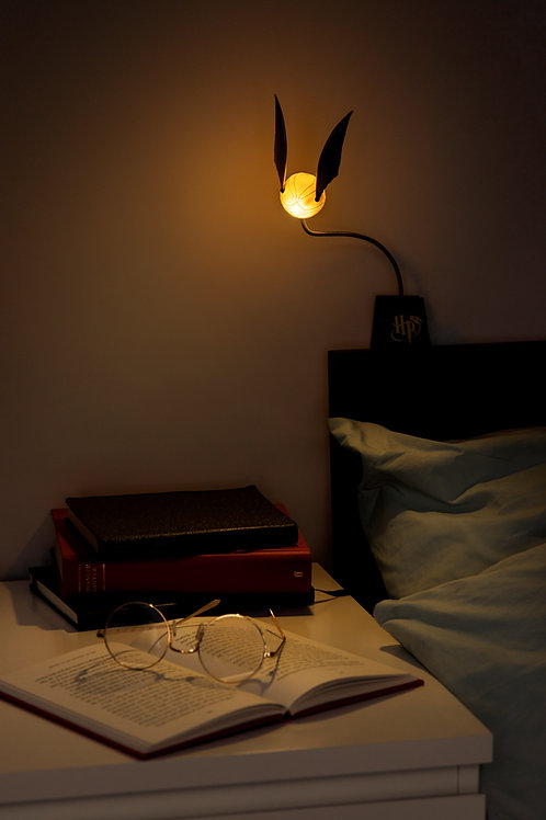 Golden Snitch Lumi Clip Light