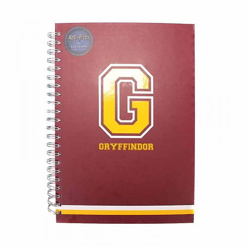 Harry Potter Varsity A4 Wiro Notebook (G for Gryffindor)