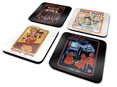 Steven Rhodes Coasters - Set of 4