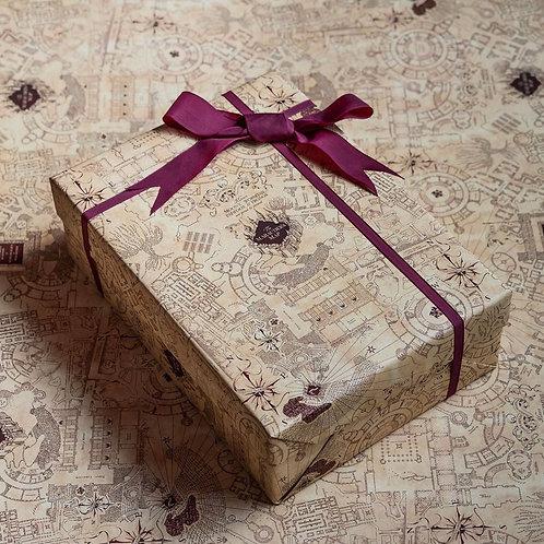 Harry Potter Marauders Map Gift Wrap