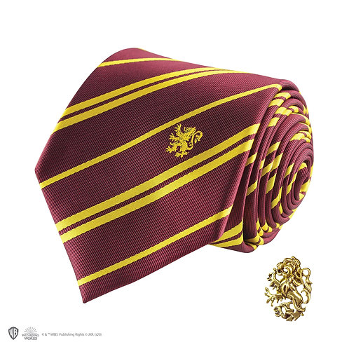 Harry Potter Gryffindor Tie - Deluxe Edition