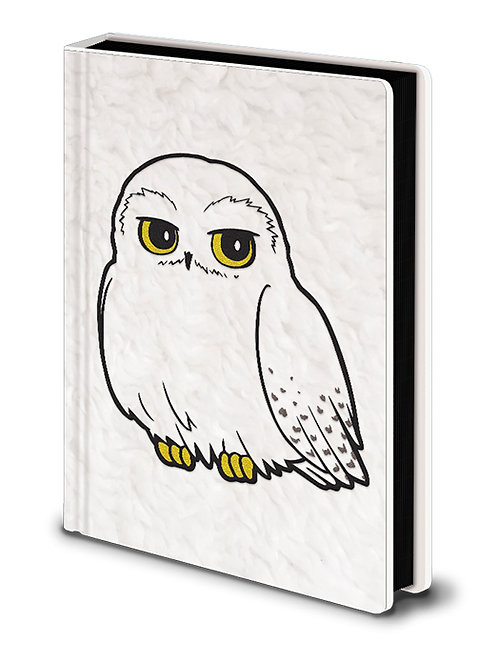 Harry Potter Premium Fluffy Notebook (Hedwig)