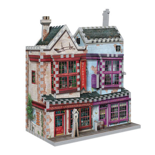Harry Potter Quality Quiddtich Supplies - Slug and Jiggers 3D Puzzle