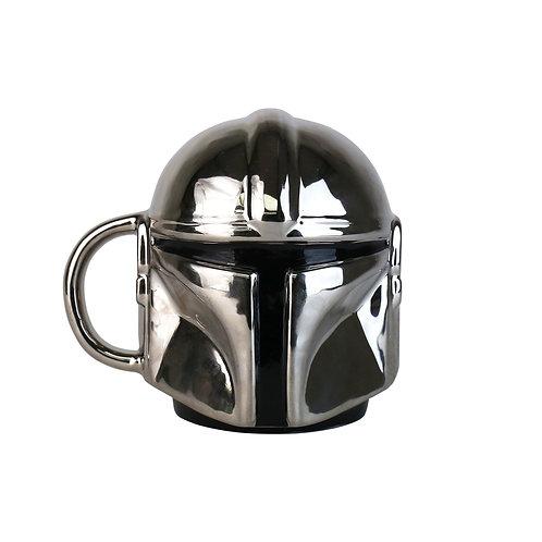 The Mandalorian Electroplated Helmet Mug