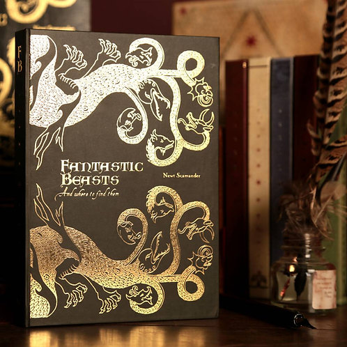Harry Potter Fantastic Beasts and Where to Find Them Journal