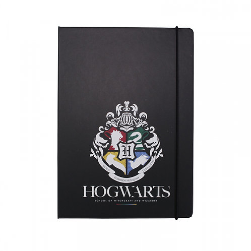 Harry Potter A5 Stationery Notebook - Hogwarts House Pride