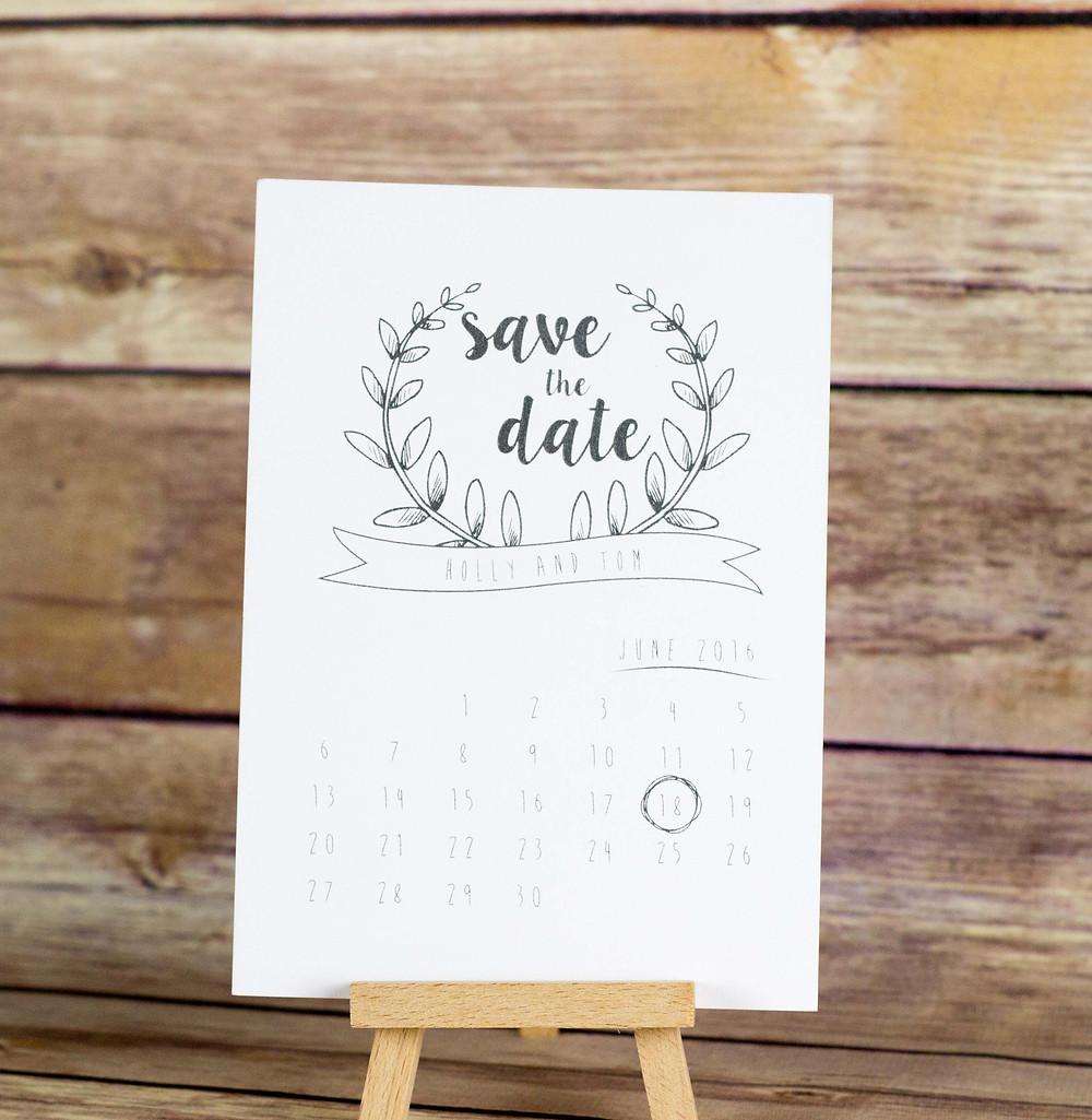 save,the,date,wedding,stationery,Skipton,Yorkshire